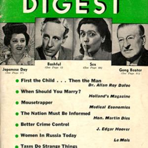 World Digest. May 1940. UVa