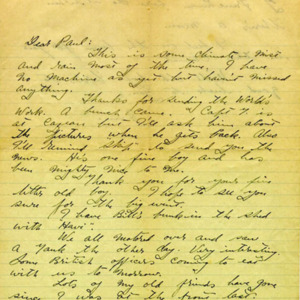 McConnell letters. November 15, 1916, p.1