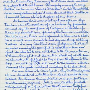 McConnell documents. Marcelle Guérin. Memoir, p.4