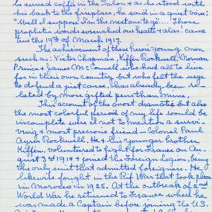 McConnell documents. Marcelle Guérin. Memoir, p.10