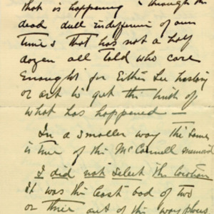 McConnell letters. February 5, 1927. Borglum to Alderman, p.2