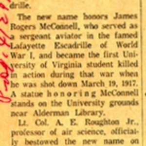 McConnell documents. Daily Progress. April 4, 1960