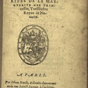 Marguerite. Marguerites (1558)