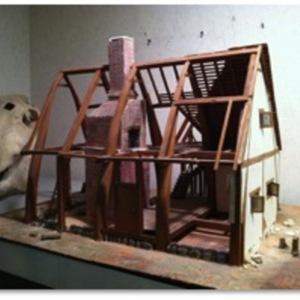 Stone house model