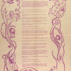 Letter from Timothy Leary