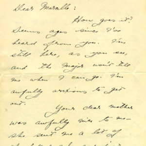 McConnell letters. February 26, 1917, p.1