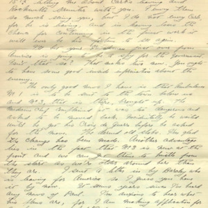 McConnell letters. July 18, 1915, p.1
