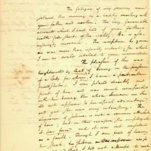 Angelica Church Archive. From Alexander Hamilton. Jan. 22, 1800, p.1
