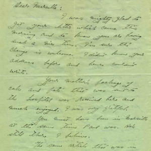 McConnell letters. March 16, 1917, p.1