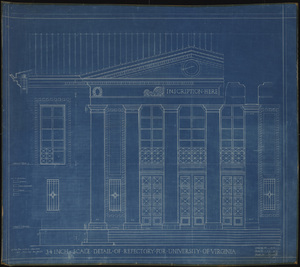 Detail of Refectory (Garrett Hall)