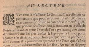 Abel L'Angelier. La puce de Madame Des-Roches. Preface