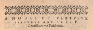 Jacques de Soudrai. La puce de Madame Des-Roches. Preface