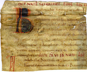 Commentary on Psalms, French, 12th century