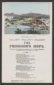 George F. Root, Tramp! Tramp! Tramp! The prisoner's hope. [New York]: Charles Magnus, [ca. 1861-1865]