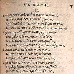 Du Bellay. Antiquitez de Rome, p.53