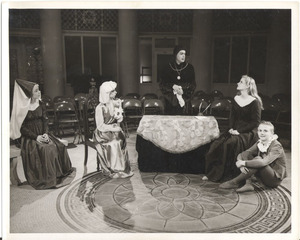 Production photograph of the Rotunda Stagers