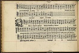 Primo libro de la canzoni francese, p.6
