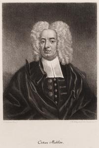 Engraving of Cotton Mather
