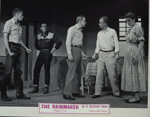 Production photograph of the Virginia Players' staging of The Rainmaker