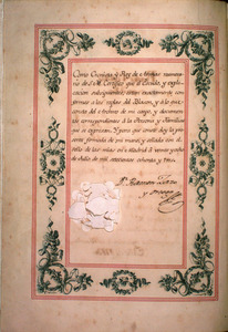 Royal Patent Signed by Charles III