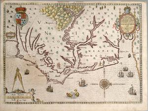 White, John. Americæ pars, nunc Virginia dicta. [Frankfurt am Main]: Theodore de Bry, [1590]. First issue.