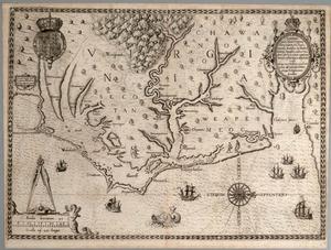 White, John. Americæ pars, nunc Virginia dicta. [Frankfurt am Main]: Theodore de Bry, [1590]. Second issue.