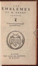 Alciato. Les Emblemes (1549)