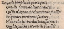 Jean Antoine de Baïf. Les mimes. Liv. I, p.19