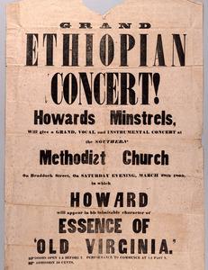 Grand Ethiopian Concert! [Winchester, VA: 1863]