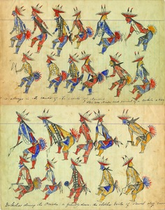 Drawings by Sioux Indian Children