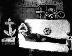 Holsinger funeral photographs