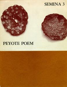 Peyote Poem