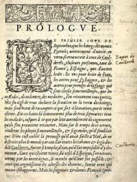 Marguerite. L'Heptaméron. Prologue