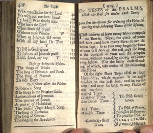 The Psalms, Hymns, and Spiritual Songs