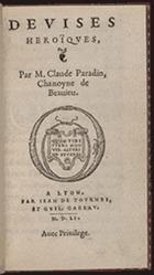 Paradin. Deuises ... (1551)