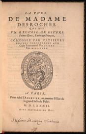 La puce de Madame Des-Roches