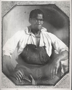 Daguerreotype of Isaac Jefferson by John Plumbe