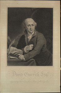 Engraving of David Garrick