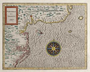 [Wytfliet, Cornelius.] Norumbega et Virginia. N.p.: n.p., 1597.