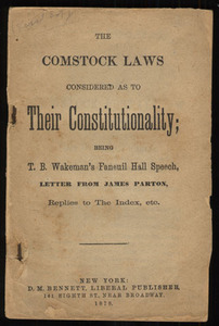 Comstock Laws