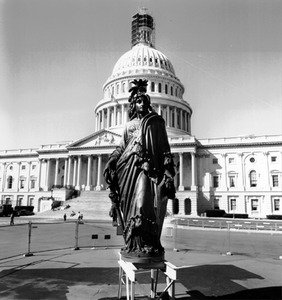 Statue Freedom. Full. Front