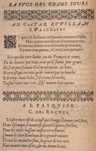 C. Des Roches/E. Pasquier. La puce de Madame Des-Roches