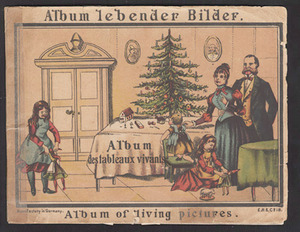 Album Lebender Bilder. Germany: E. R. &amp; Co., [1870s].<br /><br />