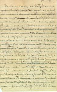 Lomax letter, ca. 1863