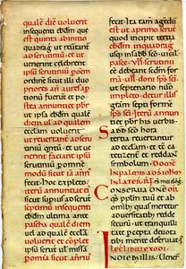 Lectionarium, 9th century
