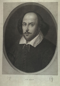 Engraving of William Shakespeare