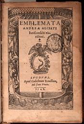 Alciato. Emblemata (1548)