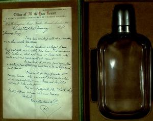Dickens' spirit flask