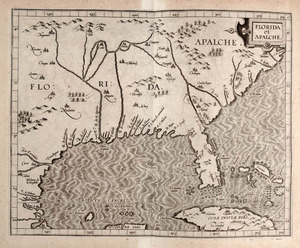 Wytfliet, Cornelius. Descriptionis Ptolemaicæ avgmentvm. Louvain: Tijpis Iohannis Bogardi, 1597.