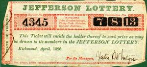 Mr. Jefferson's Lottery